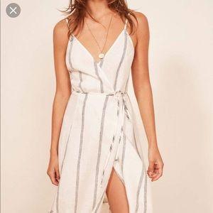 Reformation fig dress